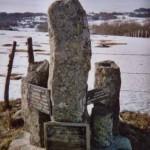 La stèle commemorative